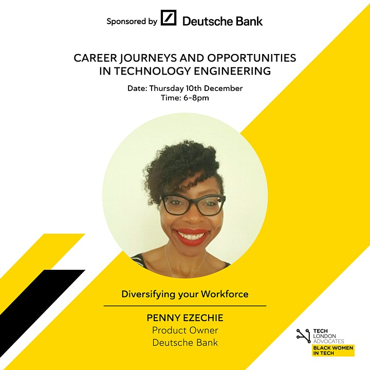 TLA Black Women in Tech - Preparation for 2021 with Deutsche Bank image