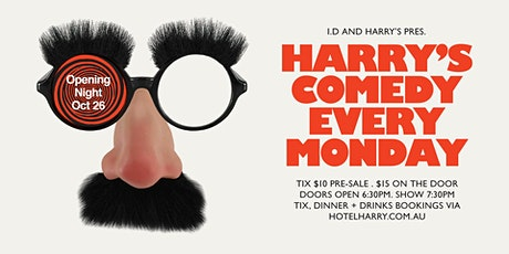 Harry's Comedy - December tickets