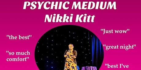 Evening of Mediumship with Nikki Kitt - Plymouth tickets