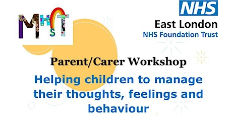 Helping children to manage their thoughts, feelings and behavior. tickets