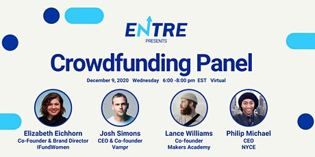 Crowdfunding Panel tickets