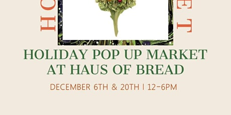 Bud & Breakfast Holidaze Market tickets