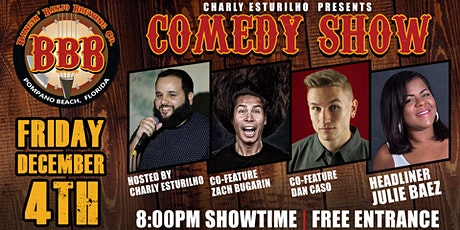 Bangin' Banjo Comedy tickets
