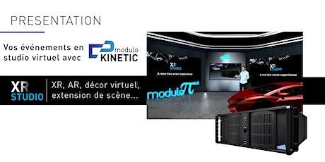 Webinaire - Les événements en studio virtuel XR avec Modulo Kinetic billets