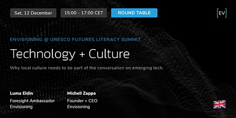 Workshop | Technology + Culture tickets