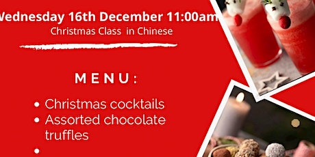 Christmas Cooking Class with Thermomix in CHINESE tickets