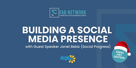 Building a social media presence with guest speaker Janet Bebb tickets
