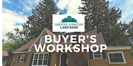 Buyers Workshop -December tickets
