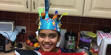 FREE:  Make your own carnival head dress tickets