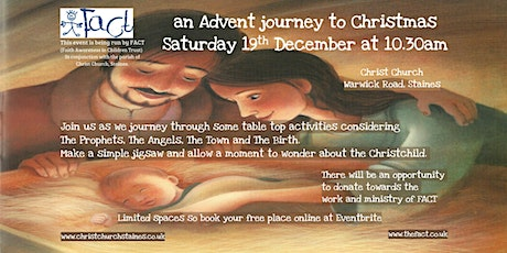 an Advent journey to Christmas tickets