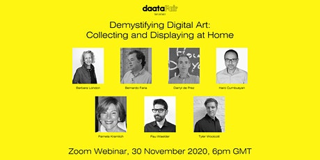 Daata presents Demystifying Digital Art: Collecting and Displaying at Home tickets