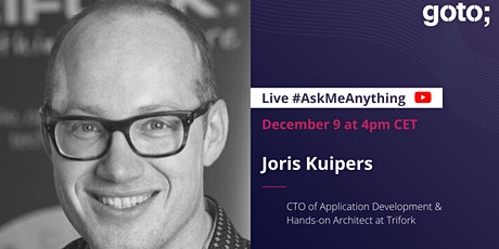Ask Me Anything with Joris Kuipers tickets