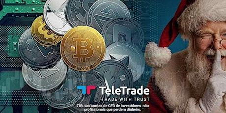 Webinar LIVE - Trading no Mercado de Criptomoedas bilhetes