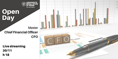 Open Day | Master Chief Financial Officer - CFO biglietti