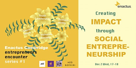 Creating Impact through Social Entrepreneurship tickets