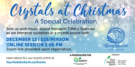 Crystals At Christmas  - A Special Celebration Fundraiser for AIMHH! tickets