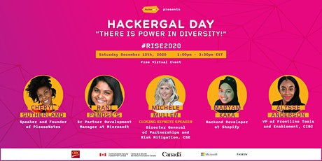 HACKERGAL DAY: THERE IS POWER IN DIVERSITY tickets