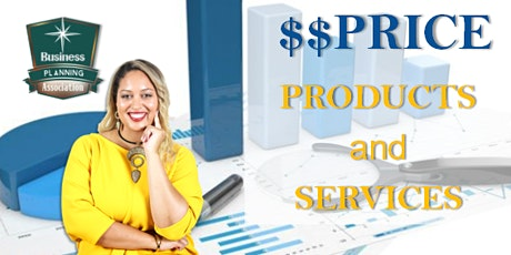 How to Price Products and Services to Make Profit tickets