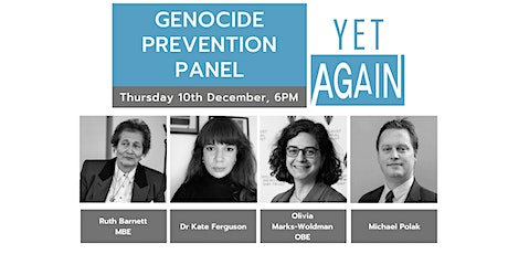 Genocide Prevention Panel tickets