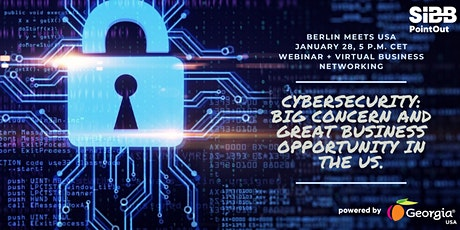 Berlin Meets USA: Cybersecurity-big concern and great business opportunity tickets