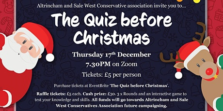 The Quiz before Christmas tickets