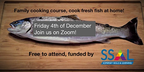 Family Cooking - Cooking with Fresh Fish - Zoom event 4/12/2020 tickets