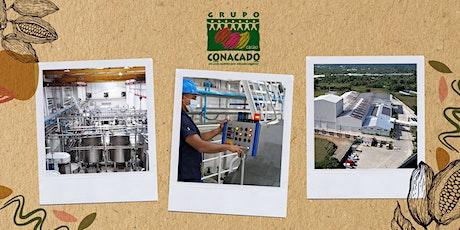 Tour de la planta procesadora de CONACADO tickets