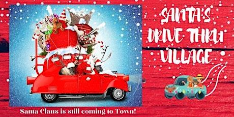 Santa's Drive-Thru Experience tickets