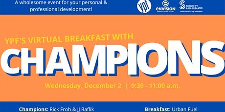Breakfast With Champions Day 2 tickets