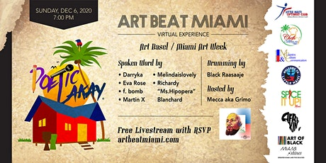 Art Beat Miami Poetic Lakay 2020 tickets