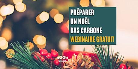 Préparer un Noël bas carbone - Webinaire gratuit billets