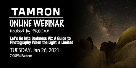 Let's Go Into Darkness V.2: Night Skies: With Erica Robinson tickets