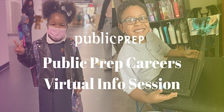 Public Prep Careers Virtual Info Session tickets
