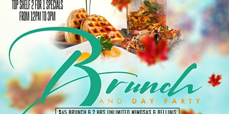 R&B SUNDAYS BOTTOMLESS BRUNCH AT TAJ tickets