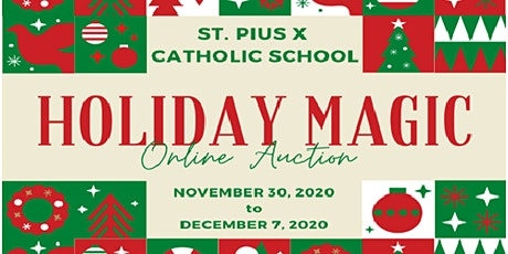 HOLIDAY MAGIC ONLINE AUCTION tickets