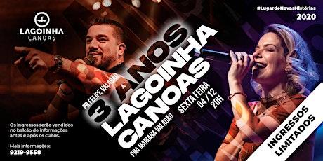 3 ANOS DE LAGOINHA CANOAS billets