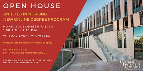 Open House - Online RN to BS in Nursing Program tickets
