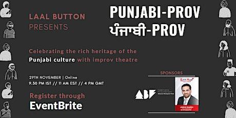 Punjabiprov - A Punjabi Improv Workshop tickets