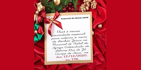 Musical Especial de Natal - 12 de dezembro de 2020 ingressos
