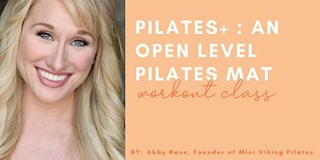 Pilates+: An Open Level Pilates Mat Class Plus Resistance Bands tickets