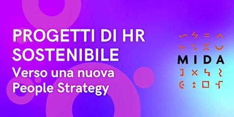 Progetti di HR SOSTENIBILE. Verso una nuova People Strategy. biglietti