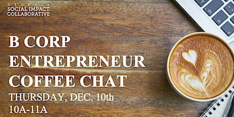 B Corp Entrepreneur Coffee Chat tickets