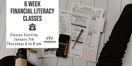 Financial Literacy Classes - Starting January 7th tickets