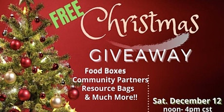 Free Christmas Giveaway tickets