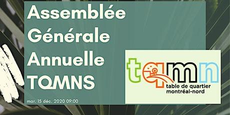 Assemblée Générale Annuelle TQMN billets