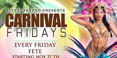 Carnival Fridays tickets