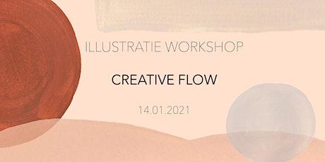 ILLUSTRATIE WORKSHOP - CREATIVE FLOW tickets