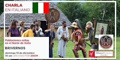 Charla virtual en italiano: Poblaciones celtas  en el Norte de Italia tickets