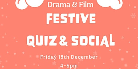 Festive Quiz and Social tickets