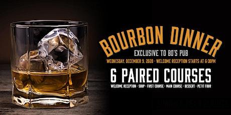 Bourbon 6 Course Dinner tickets